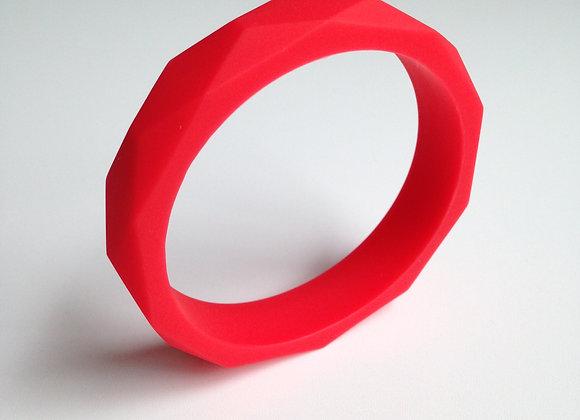 Red teething bangle