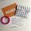 Thumbnail: HUGS greeting postcard with handwritten message