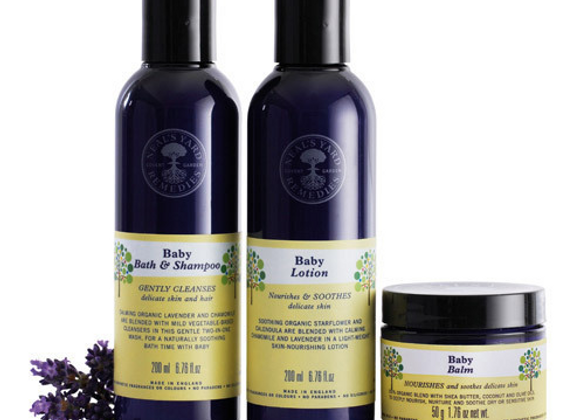 Neals Yard Baby Collection