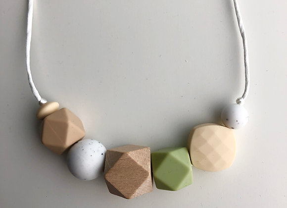 Geo Mix No.8 Teething Necklace