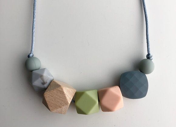 Geo Mix No.7 Teething Necklace