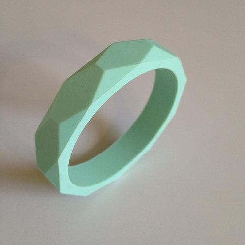 Mint green teething bangle