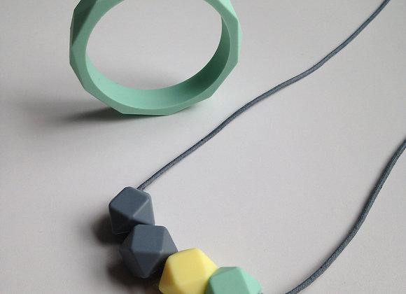 Fresh Mint teething jewellery set