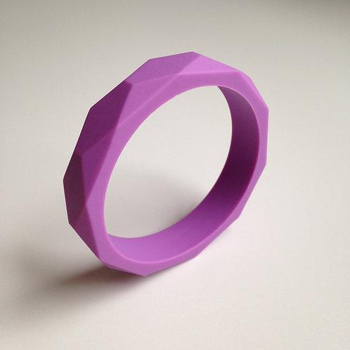 Lilac teething bangle