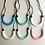 Thumbnail: Pink U shaped teething pendant