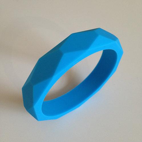 Sky blue teething bangle