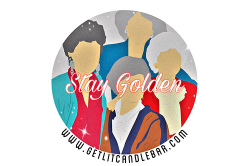 Stay Golden-Group Pic (Travel Tin)