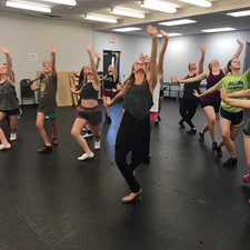 Advanced class is ready for Broadway aft