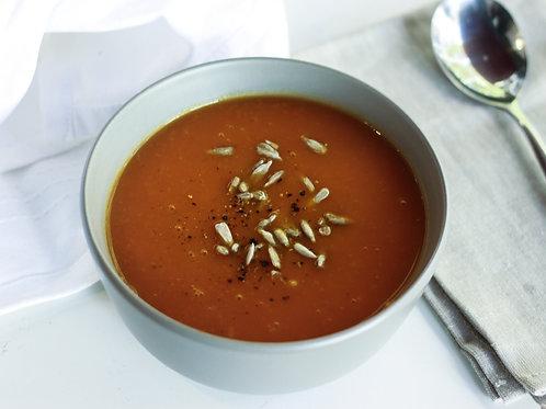 Tomato Soup (gf, df, vegan), serves 2