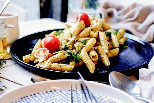 Pesto & Basil Pasta Salad (df), serves 2