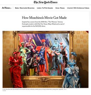 How Moschino's Movie Got Made