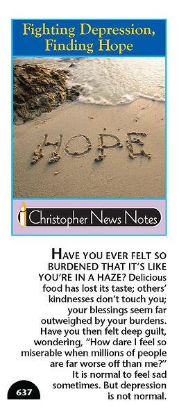 NN 637 Fighting Depression, Finding Hope