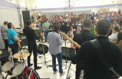 Despues de la eucaristia, concierto