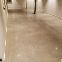 Polished concrete low shine#polishedconc
