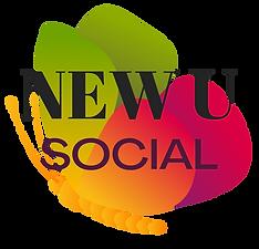 NEW U Social Logo Black Writing.png