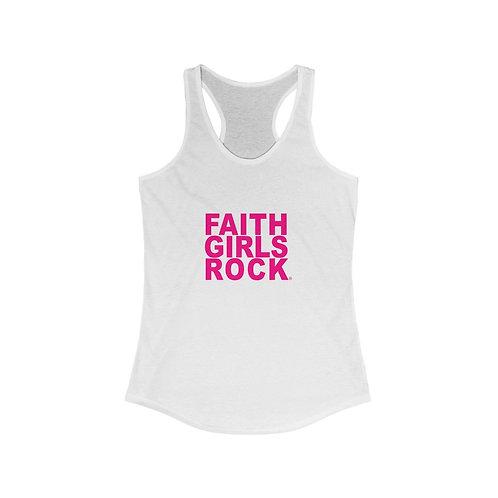 Faith Girl Rock Racerback Tank