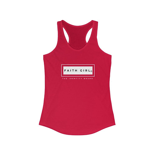 Faith Girl - The Identity Brand Racerback Tank