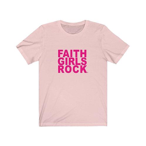 Faith Girl Rocks Jersey Short Sleeve Tee
