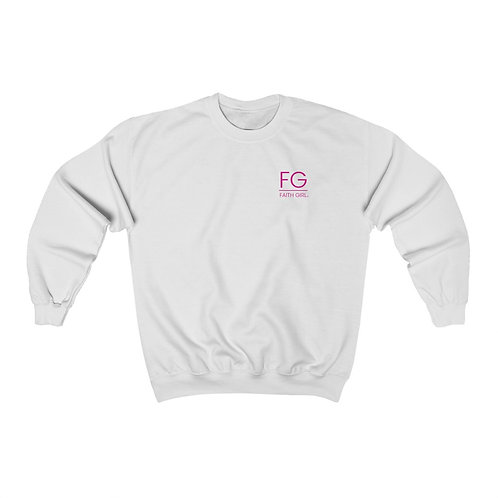 Faith Girl Noun Heavy Blend™ Crewneck Sweatshirt