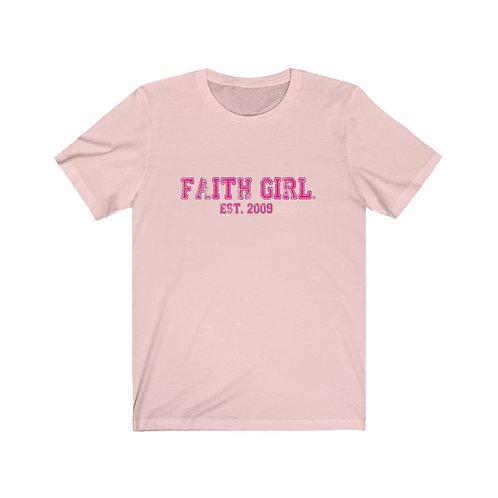 Faith Girl Est. Jersey Short Sleeve Tee
