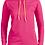 Thumbnail: A887L: Ladies' Lightweight Long-Sleeve Hooded T-Shirt