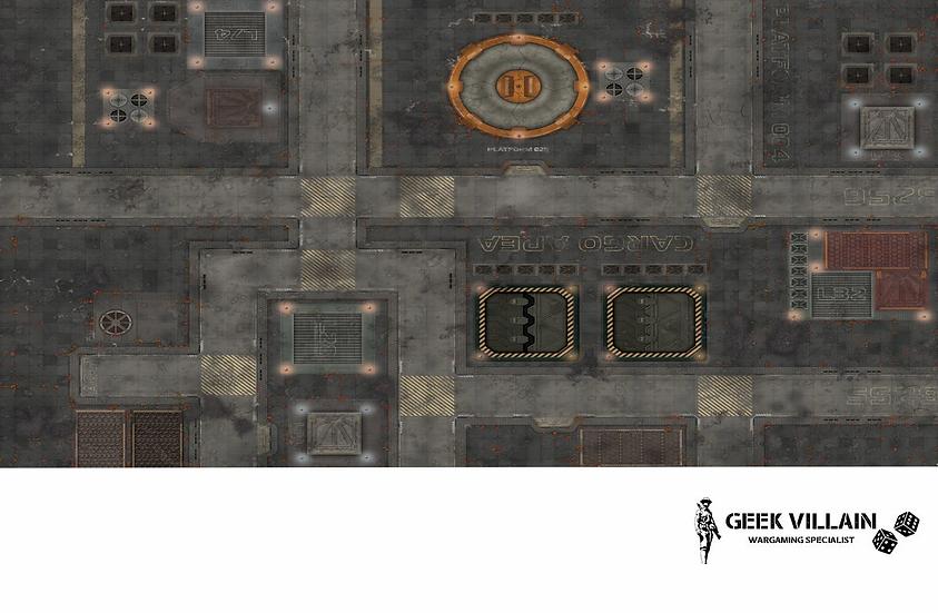 Geek Villain Games 6x4 SciFi Cargo Mat