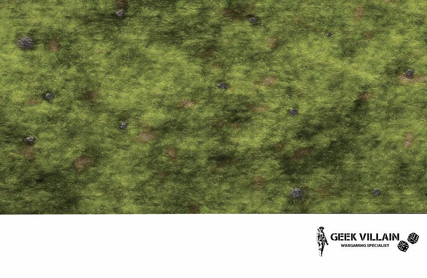 Geek Villain Games 6x4 Grassy Hill Mat