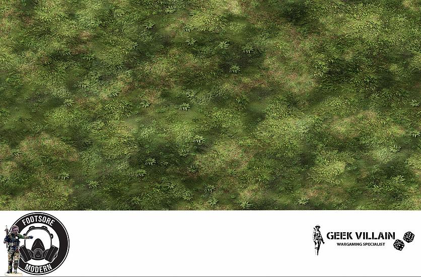 Geek Villain Games 6x4 Pacific Jungle Mat
