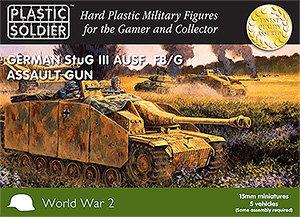 PSC 15mm WW2 German Stug III Ausf F8/G Assault Gun