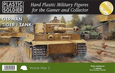 PSC 15mm WW2 German Tiger I Tank