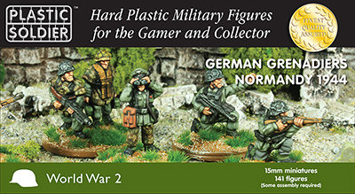 PSC 15mm German Grenadiers in Normandy 1944
