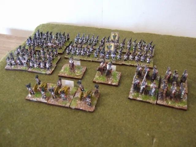 10mm Napoleonic Austrian Starter Army