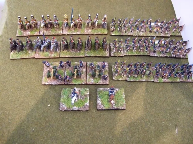10mm Napoleonic Early French Starter Army