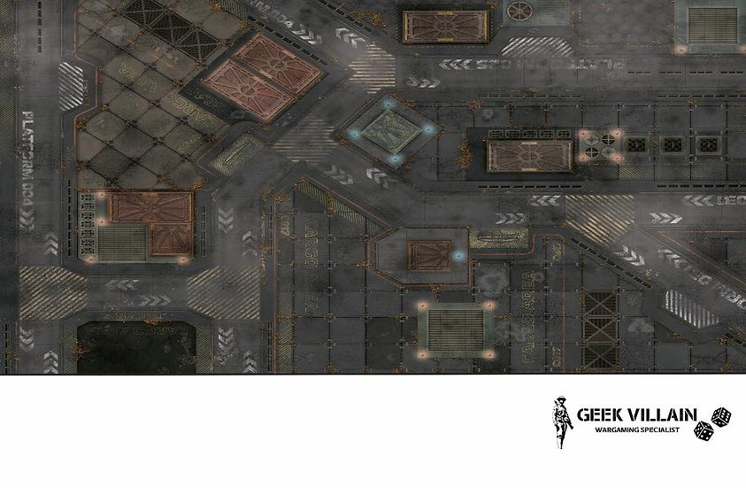 Geek Villain Games 6x4 SciFi City Mat
