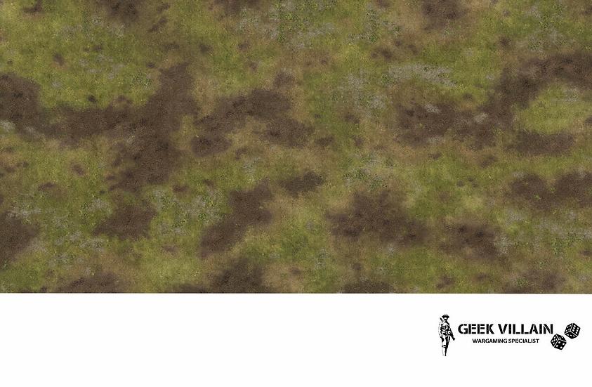 Geek Villain Games 6x4 Muddy Plains Mat