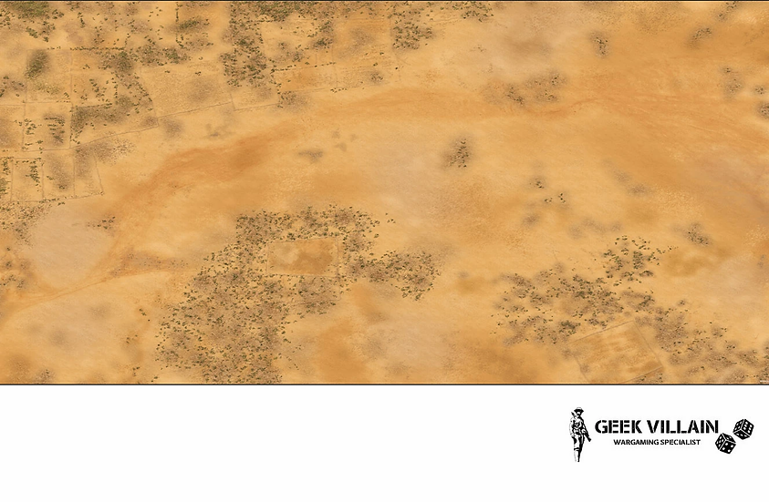 Geek Villain Games 6x4 Desert Mat