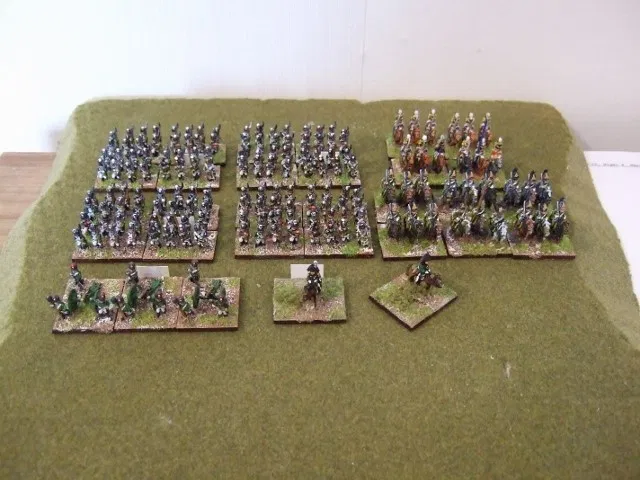 10mm Napoleonic Russian Starter Army