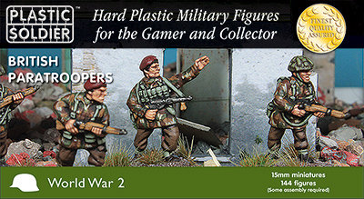 PSC 15mm British Paratroopers 1944-45