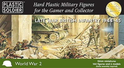 PSC 15mm Late War British Infantry 1944-45