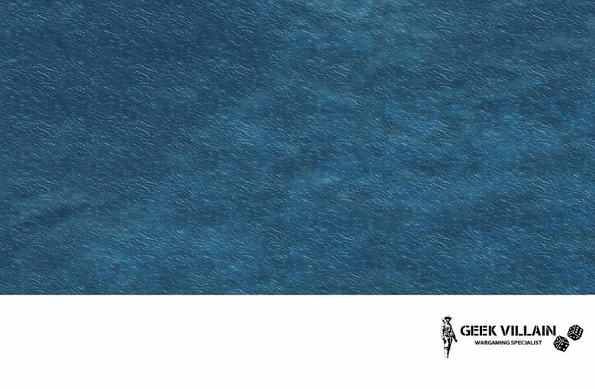 Geek Villain Games 6x4 Blue Sea Mat