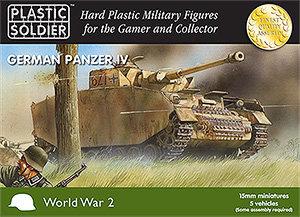 PSC 15mm WW2 German Panzer IV Tank