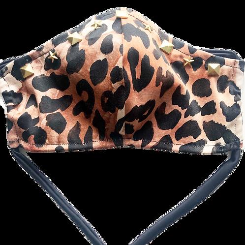 Leopard Diamond Star Shield
