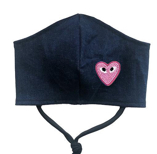 Mini Heart Face Mask