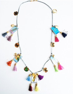 Long Chalupa Story Necklace