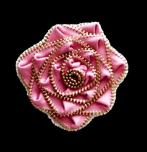 Pink Flower Pin