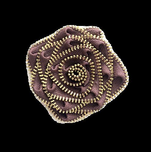 Mauve Flower Pin