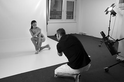 Fotoshooting mit Andy Hunger