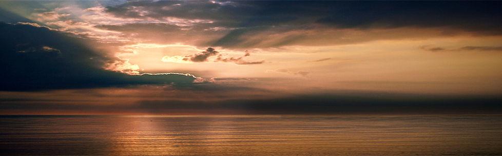 Abendstimmung über der Ostsee