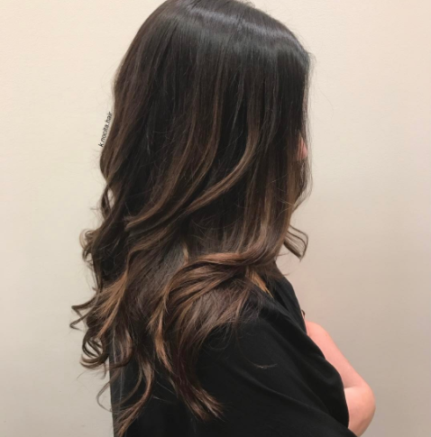 These tone on tone hilights were done about 9 months ago. We've been keeping it fresh and subtle with monthly toners and root touch ups.