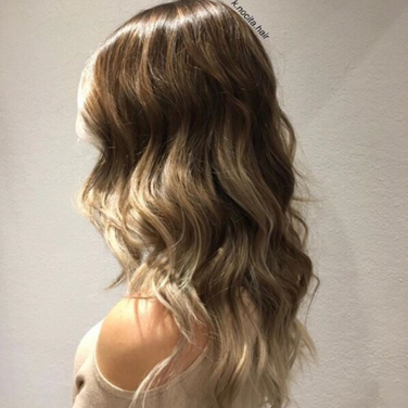 We can fix up some old, outgrown hilights by doing a full head of balayage and lowlights!